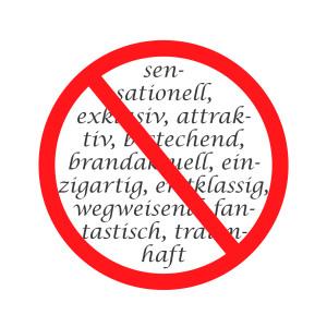 Adjektive im Werbetext