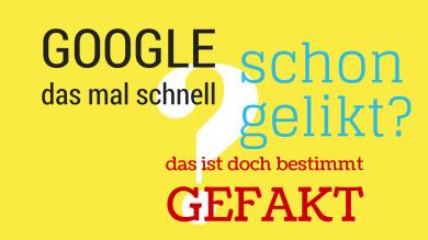 Googeln, liken, faken: So konjugieren Sie englische Verben