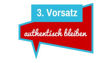 3. Vorsatz: authentisch bleiben im Blog