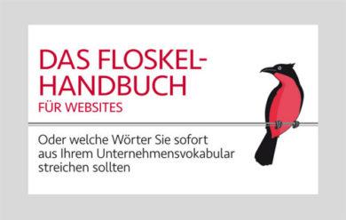 Floskelhandbuch und Newsletter