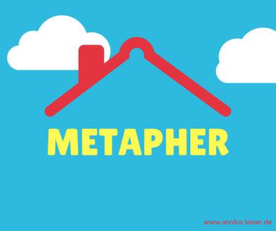 Eine Dach-Metapher für Ihren Text