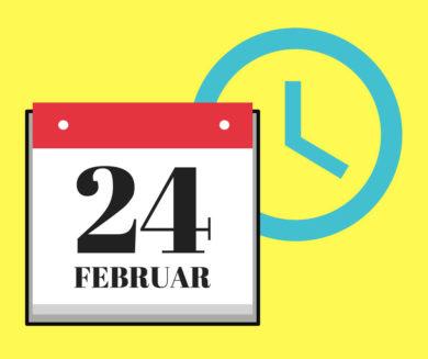 Datum und Uhrzeit richtig schreiben