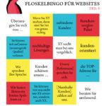 Floskelbingo für Websites, Teil 3