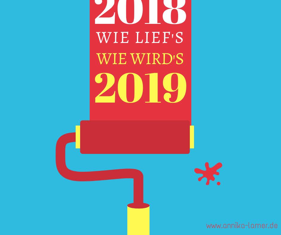 Blogjahr 2018 Rückschau Und Ausblick Annika Lamer