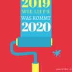 Blogjahr 2019 – Rückschau und Ausblick
