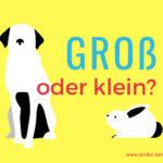 Richtig schreiben: Groß oder klein? Substantivierungen, Pronomen & Co.