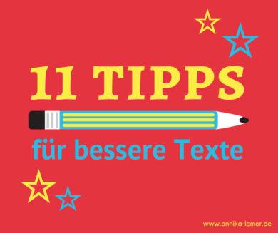 Texte schreiben: die besten Tipps
